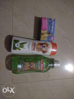 Dog soap and shampoo available for sle