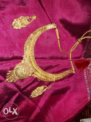 Nacklace 1 gram gold urgent sale