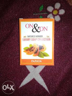 On And On Papaya Nature's Wonder Luxury Soap Collection Box