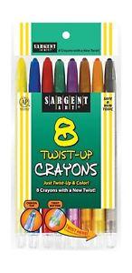 Sargent Art -Count Twist-Up Color-Crayons 1