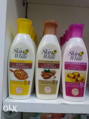 Skin whitening body lotion