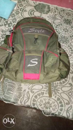 Bagpack style ,in good condition of use...,Waiting for