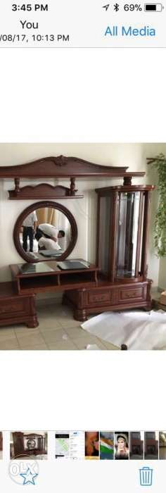 Wall unit, mirror shown in photo is excluded