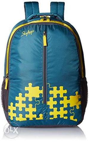 For Wholesale Pricc Blue And Yellow School/ College Backpack