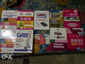 Gate,ies,psu Ece books
