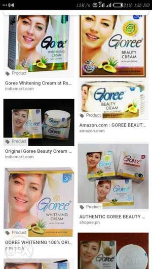 Goree Cream For Sale