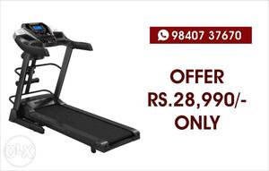 Motorised Treadmill Mega Offer Sale with 1 year warranty