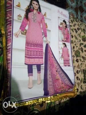 Saffron Cotton Dresses Vol 2