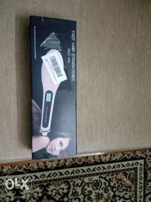 Unused fast hair straightener.with digital