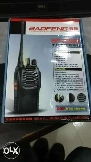 Baofeng walkie talkie 888 s brand new sealed pack