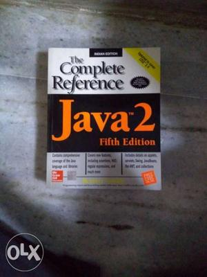 Brand new and unused book for Java the complete
