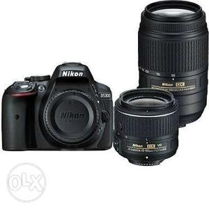 New Nikon , just 4 days old.. 2 lenses..all