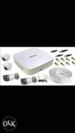 New seal pack CP Plus 4 channel CCTV camera. Wholesaler rate