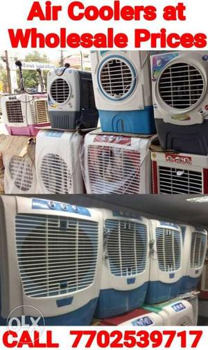Offer!!Brand New Air Coolers at Wholesale Prices from rs