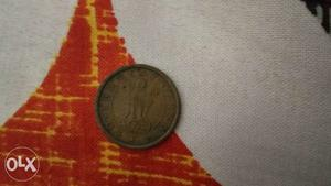 One pice coin of  india
