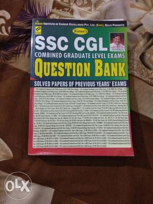 SSC CGL Question Bank Book