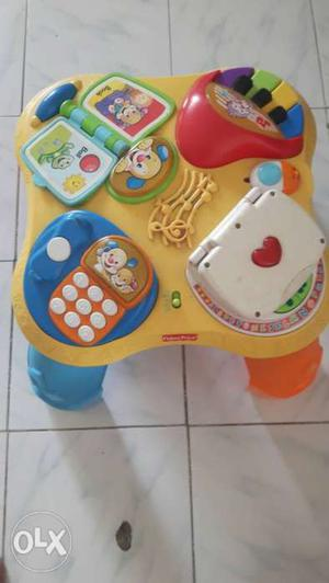 Fisher price laugh and learn table yyears
