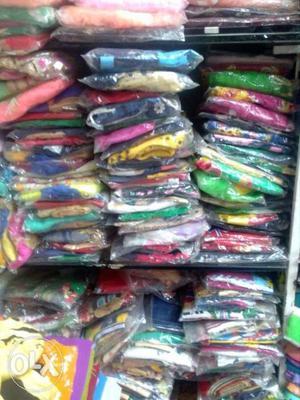 Kids wear item's for sale total 500pcs