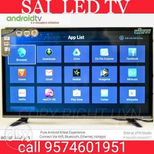 43 smart led tv new pcs call O ANDROID