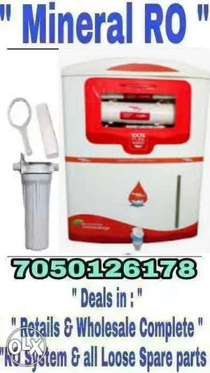 New 2 year warranty Ro fillter complet