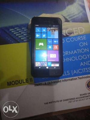 Nokia 530 Window 8.1 with 4 GB memory card