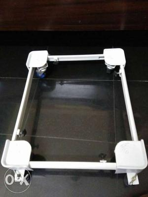 Washing machine top load stand