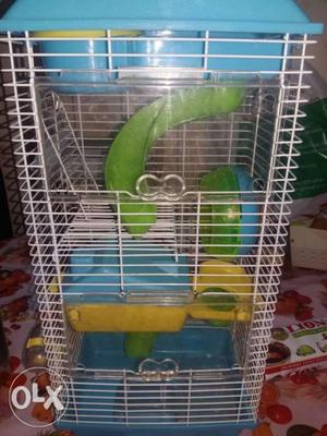 Hamster cage at very low price...urgent need of