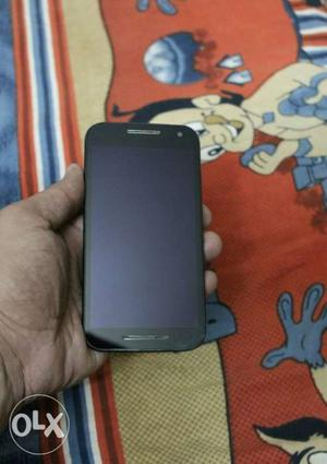 Moto G3 good working condition. Only phone is