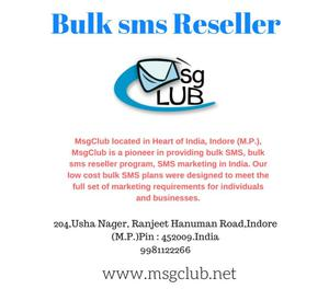 bulk SMS resellers generate leads for more revenue Indore