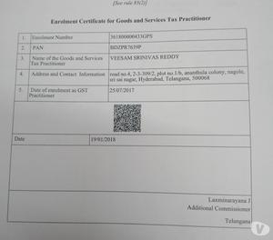 GST AND TAX FILING SERVICES Hyderabad
