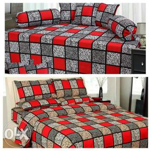 Heavy casement combo set for home 1 bedsheet with