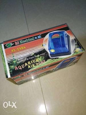 I want to sell fish tank oxygen machine. New
