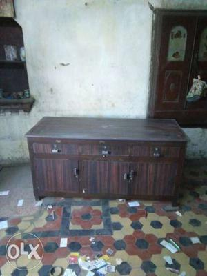 Wooden cabinet. good for office use