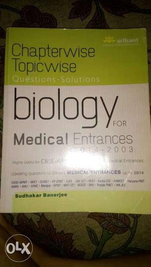 Biology For Medical Entrances Book
