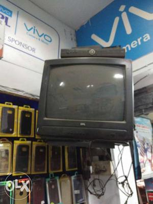 """Bpl 20"""" Color Television In Running Condition."""