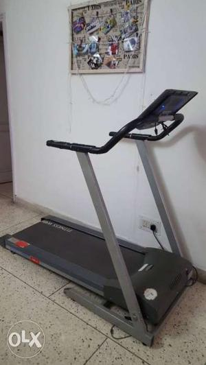 Fitness world fully automatic, motorised Black And Gray