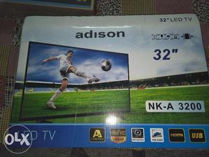 New Adison 32 inch Slimmest full hd Led Tv with one year