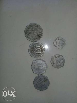 Old coins of INDIA from