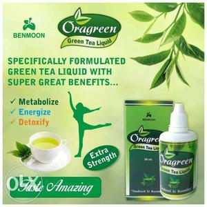 Oragreen Green Tea Liquid With Box