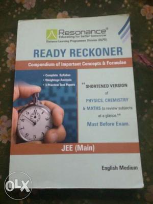 Resonance ready reckoner up for sale