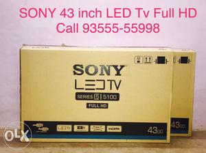 Sony 43 inch FULL HD LED TV with warranty