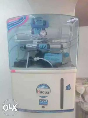 White And Blue Haqua Water Purifier
