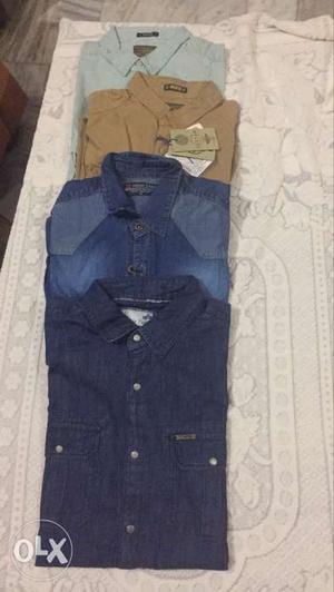 Branded Denim Shirts 690/- Each Shirt