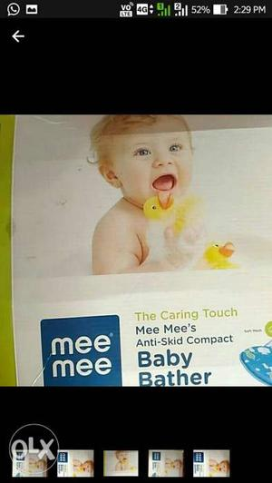 This is a new baby bather from mee mee brand for