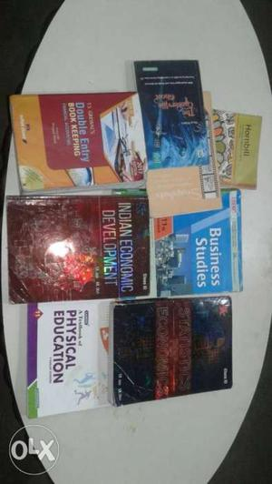 11th Commerce Course, all books in new condition