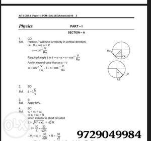 Allen-Resonance-Fiitjee|| pdf Test Series () |which