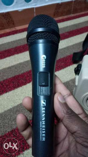 Black Sennheiser Microphone