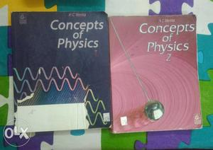 Hc Verma -Concepts Of Physics 1 And 2 Books