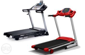 Motorized treadmills in excellent new condition for weight