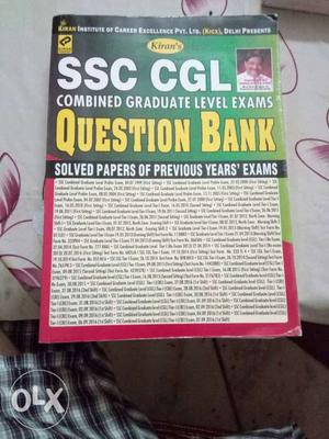 SSC CGL Combined Graduate Level Exams Book